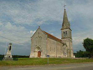 Ambernac - Ambernac church
