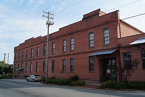 National Register of Historic Places listings in Lenoir County, North Carolina - Image: American Tobacco Company Prizery