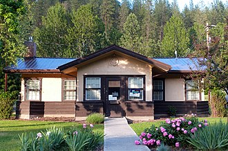National Register of Historic Places listings in Nez Perce County, Idaho - Image: American Womens League Chapter House Peck Idaho