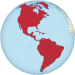 Americas on the globe (red).svg