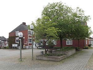 Nordwalde - The Amilly Square in the centre of Nordwalde