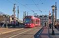 Amsterdam Amstelbrug GVB 2107 Thalys reclame (24693856917).jpg