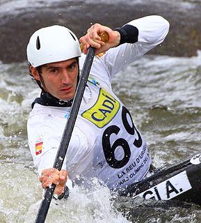 Ander Elosegi Spanish slalom canoeist