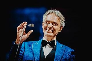 Andrea Bocelli Italian tenor