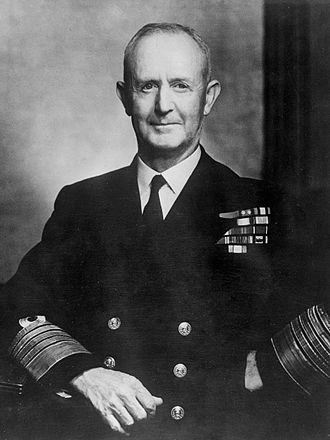 Andrew Cunningham, 1st Viscount Cunningham of Hyndhope - Admiral of the Fleet Sir Andrew Cunningham, 1947