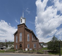 Andrews Methodist Episcopal Church, the International Mother's Day Shrine. Grafton, West Virginia LCCN2015631665.tif