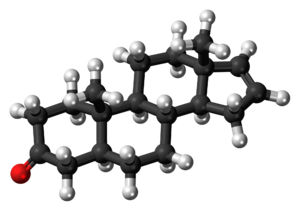 Androstenone - Image: Androstenone 3D balls