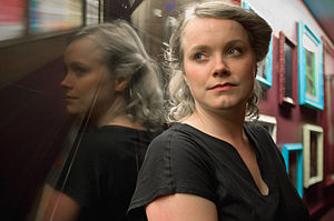 Ane Brun, Le Cargo interview, 2008.jpg