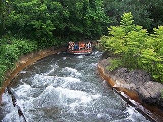 Kali River Rapids attraction at Disneys Animal Kingdom