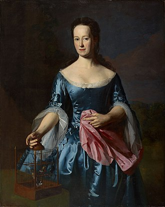 John Singleton Copley - Portrait of Ann Fairchild Bowler (1758)