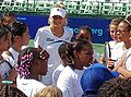 Anna Kournikova at tennis clinic 2010-07 1.JPG