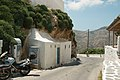 Ano Chora on Serifos, at final bus stop, 190246.jpg