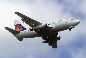 Ansett New Zealand - Ansett New Zealand Boeing 737-130, November 1988