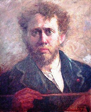 Numa Ayrinhac - Portrait of Numa Ayrinhac, by Antônio Parreiras (1918).
