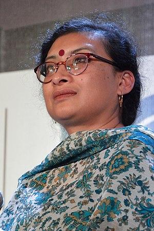 Antara Dev Sen - at the Kolkata Literary Meet 2013