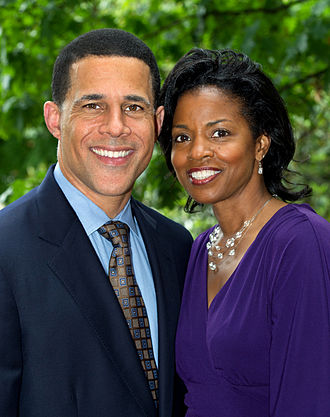 Anthony G. Brown - Lieutenant Governor Brown and Karmen Walker Brown in May 2011