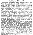 Anthony Eickhoff (1847-1901) obituary in the New York Times.png
