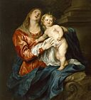 Anthony van Dyck - Virgin and Child - Walters 37234.jpg