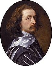 Anthonis van Dyck, Selbstporträt um 1640 (Quelle: Wikimedia)