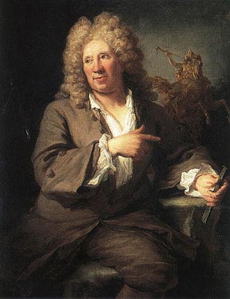 Gilles Allou - Portrait of Antoine Coysevox (Versailles)