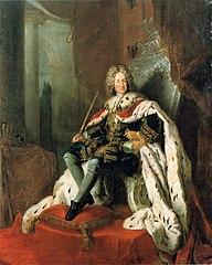 Federico I de Prusia por Antoine Pesne
