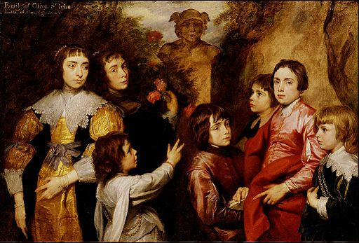 Anton Van Dyck A Family Group