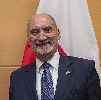 Antoni Macierewicz - Macierewicz in 2016