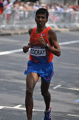 Sri Lanka at the 2012 Summer Olympics - Anuradha Cooray finished 55th in the men's marathon