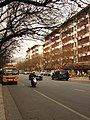 Apartment buildings are decorated to welcome the 60th National Day - panoramio.jpg