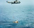 Apollo 7 recovery with SH-3 Sea King 1968.jpg