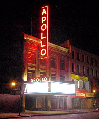 125th Street (Manhattan) - Image: Apollo Theater Harlem NYC 2010 crop
