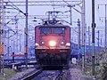 Approaching CNB bang on time with Brahmaputra Mail - Flickr - Dr. Santulan Mahanta.jpg