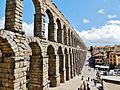 Aqueduct of Segovia, Segovia, Spain, April 2015.jpg