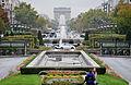 Arc de triomphe vu de Neuilly, le 24 octobre 2009.jpg