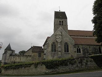 Arcis-le-Ponsart - Église Notre-Dame.