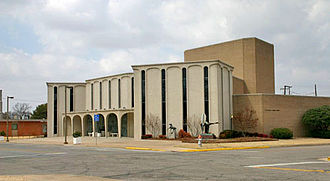 Ardmore, Oklahoma - Charles B. Goddard Center for the Visual and Performing Arts, downtown Ardmore
