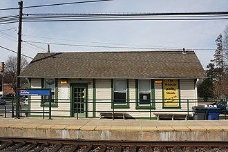 Ardsley station - Image: Ardsley Train Station, Ardsley PA 01