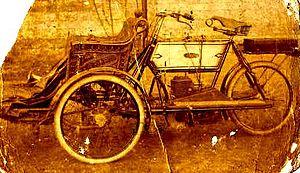 Ariel Motorcycles - Ariel tricycle circa 1902