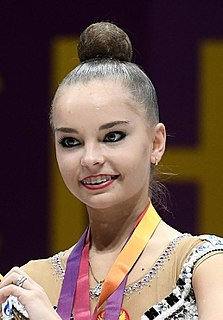 Arina Averina Russian rhythmic gymnast