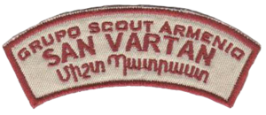 Scouting and Guiding in Argentina - Image: Armenian Scouts in Argentina