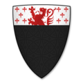 Armorial Bearings of the BODENHAM family of Burcher, Titley, Herefordshire.png