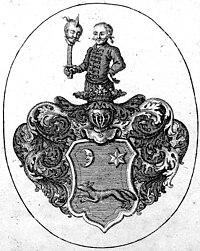 Armorial bookplate of David Samuel von Madai.jpg
