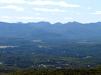 McKenzie Mountain - Image: Armstrong and Gothics from Mt Mc Kenzie