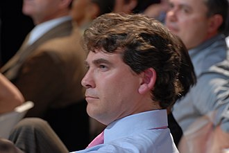 Arnaud Montebourg - Arnaud Montebourg during Ségolène Royal and José Luis Rodríguez Zapatero's meeting in Toulouse for the 2007 presidential election.