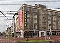 Arnhem, hotel Haarhuis voor Giro d'Italia kant Willemstunnel IMG 9431 2016-04-30 09.13.jpg