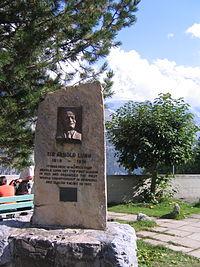 Arnold Lunn memorial