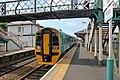 Arriva Trains Wales Class 158, 158833, Flint railway station (geograph 4031672).jpg