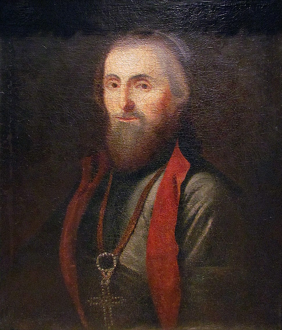 Arsenije IV Jovanović Šakabenta, cca 1785, by Jakov Orfelin, National Museum of Serbia