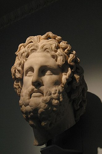 Asclepius of Milos - Alternative view of the head