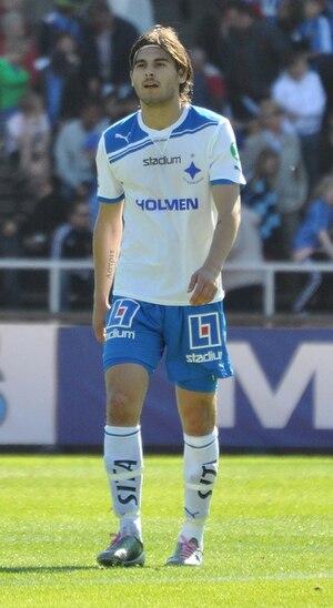 Astrit Ajdarević - Ajdarević playing for IFK Norrköping in 2011.